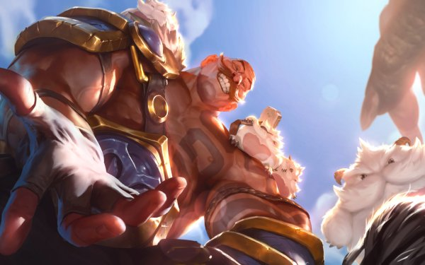 Video Game Legends of Runeterra Braum HD Wallpaper   Background Image