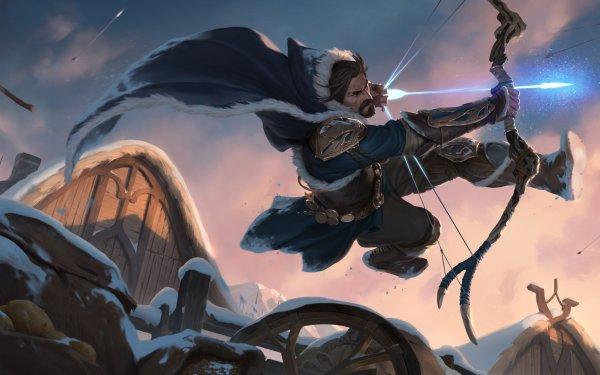 Video Game Legends of Runeterra Archer Freljord HD Wallpaper   Background Image