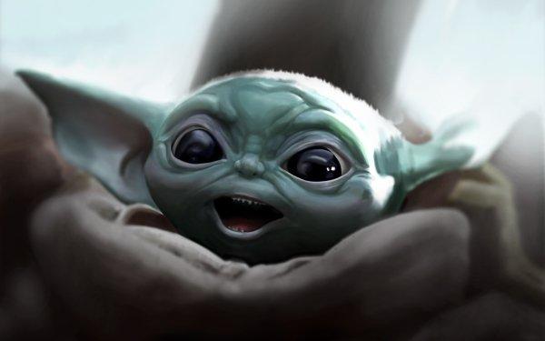 TV Show The Mandalorian Baby Yoda HD Wallpaper   Background Image