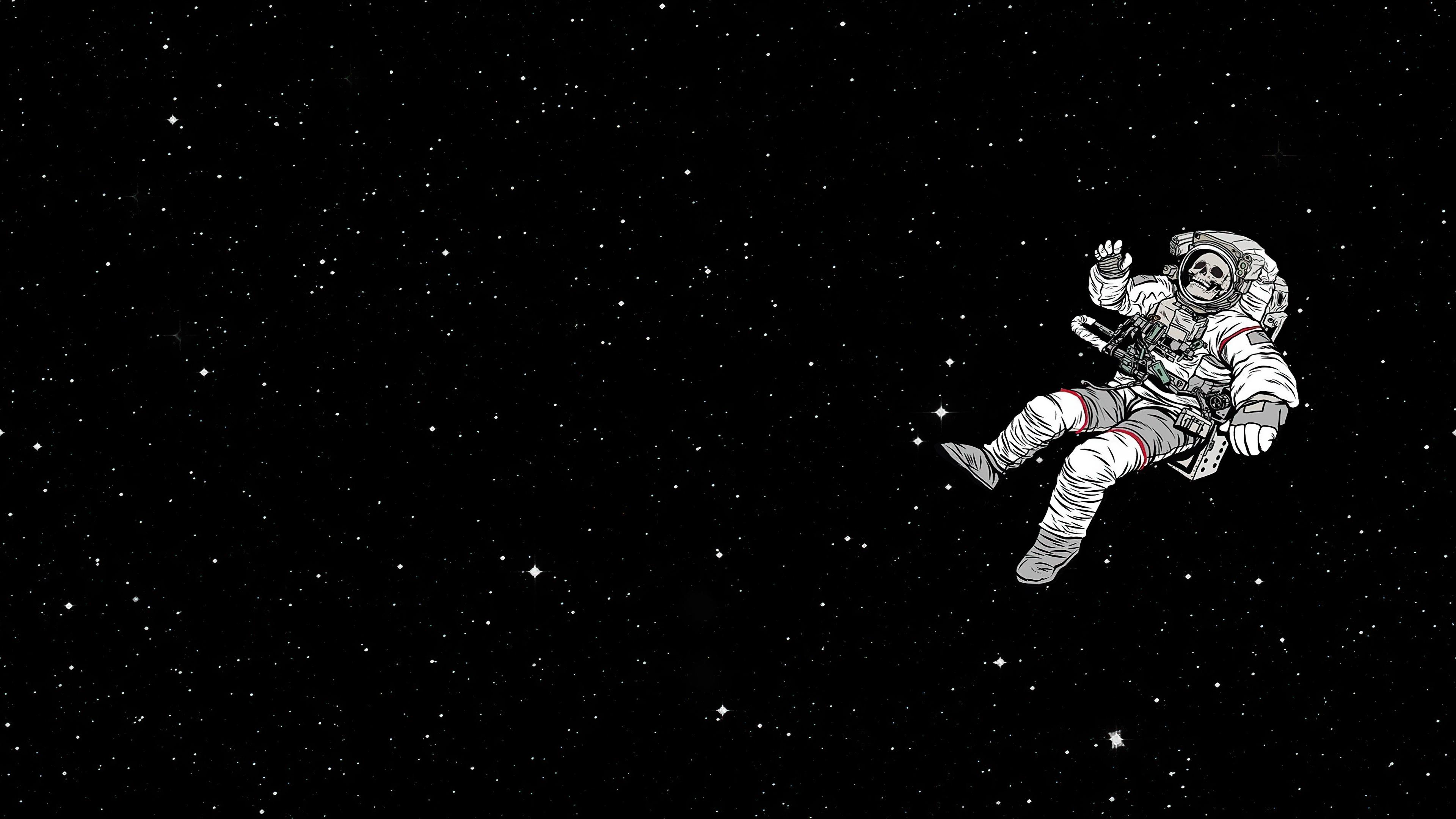 Astronaut 4k Ultra Hd Wallpaper Background Image 3840x2160 Id 1080217 Wallpaper Abyss