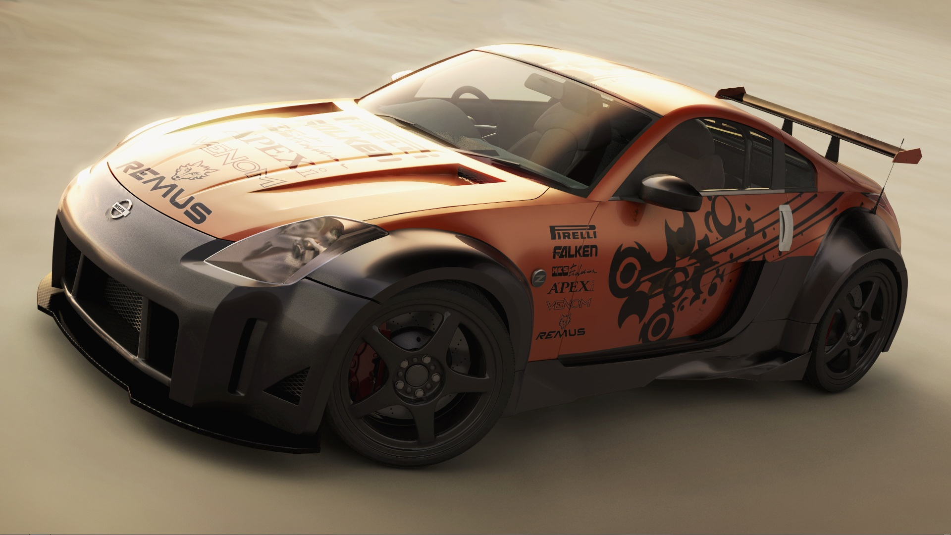Vehicles - Nissan  - Nissan 350z Wallpaper