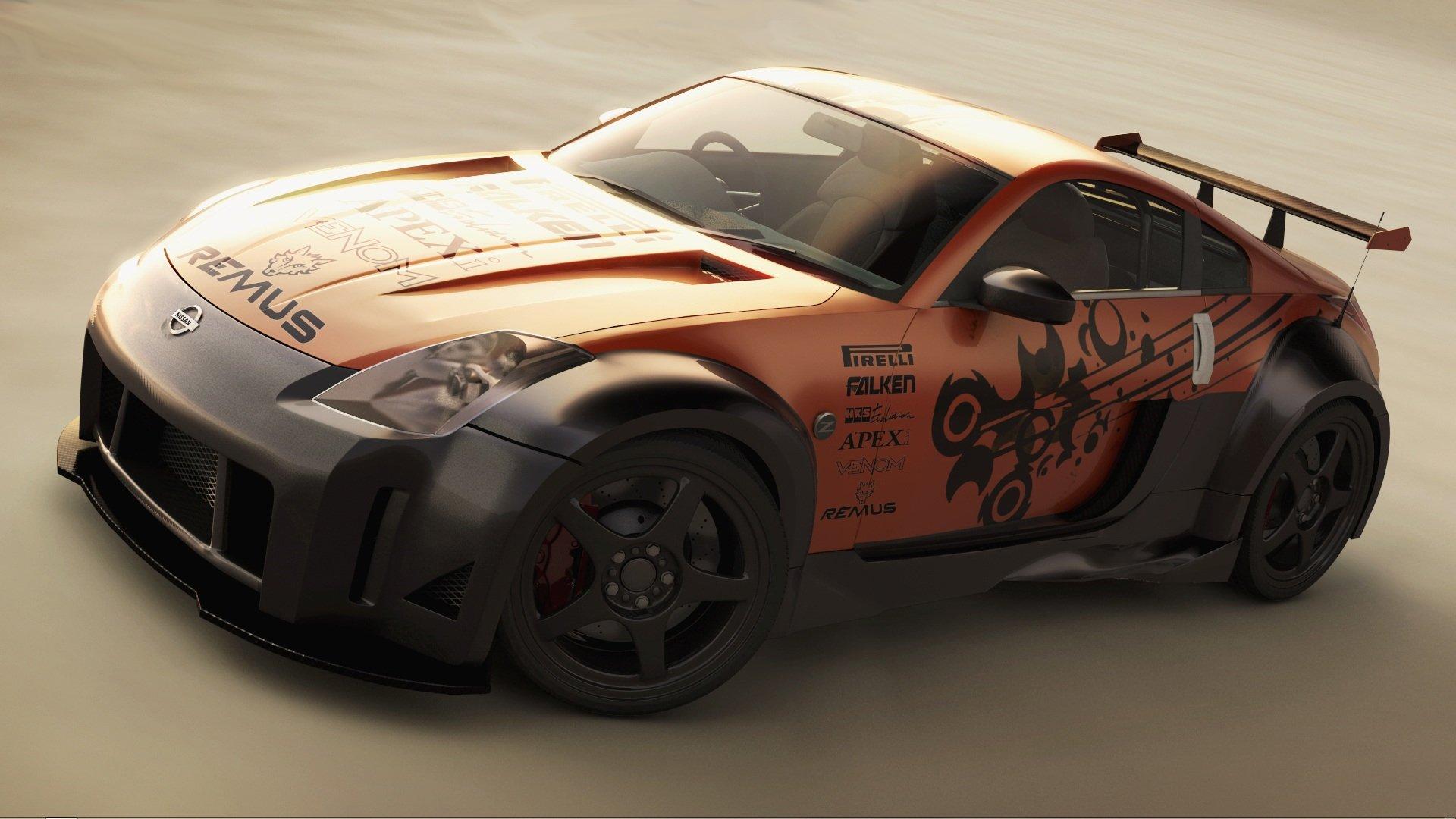 Vehicles - Nissan  Nissan 350Z Wallpaper