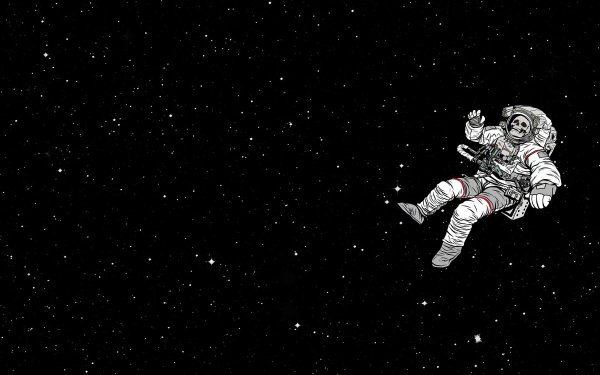 Sci Fi Astronaut Skull Space Space Suit HD Wallpaper | Background Image