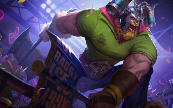 Videojuego League Of Legends Olaf Guerrero Fondo de pantalla HD | Fondo de Escritorio