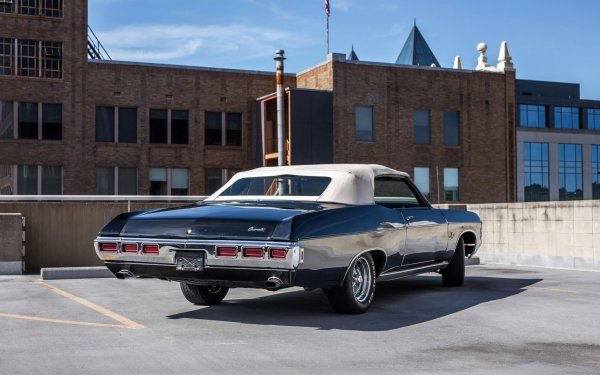 Vehicles Chevrolet Impala Convertible Chevrolet Chevrolet Impala Convertible Muscle Car Old Car Black Car Car HD Wallpaper | Background Image