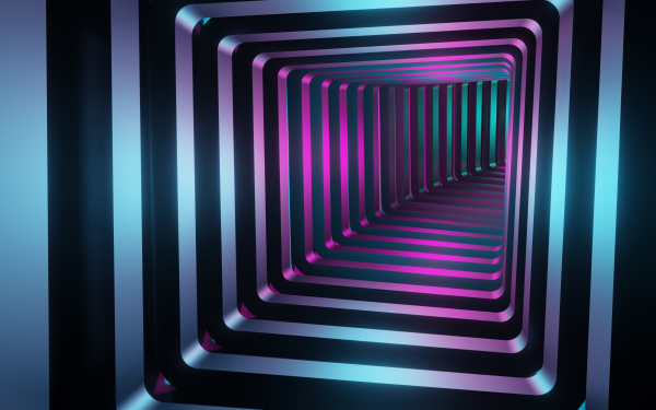 Abstract Tunnel 3D HD Wallpaper | Background Image