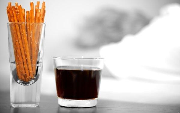 Food Drink Pretzel HD Wallpaper | Background Image