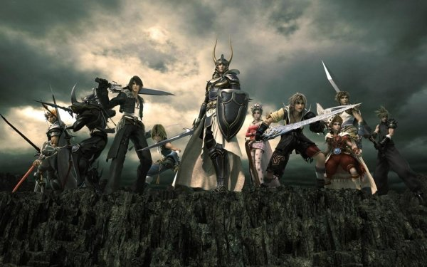 Video Game Dissidia: Final Fantasy Final Fantasy Hulk HD Wallpaper   Background Image