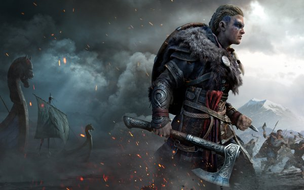 Videojuego Assassin's Creed Valhalla Assassin's Creed Eivor Fondo de pantalla HD   Fondo de Escritorio