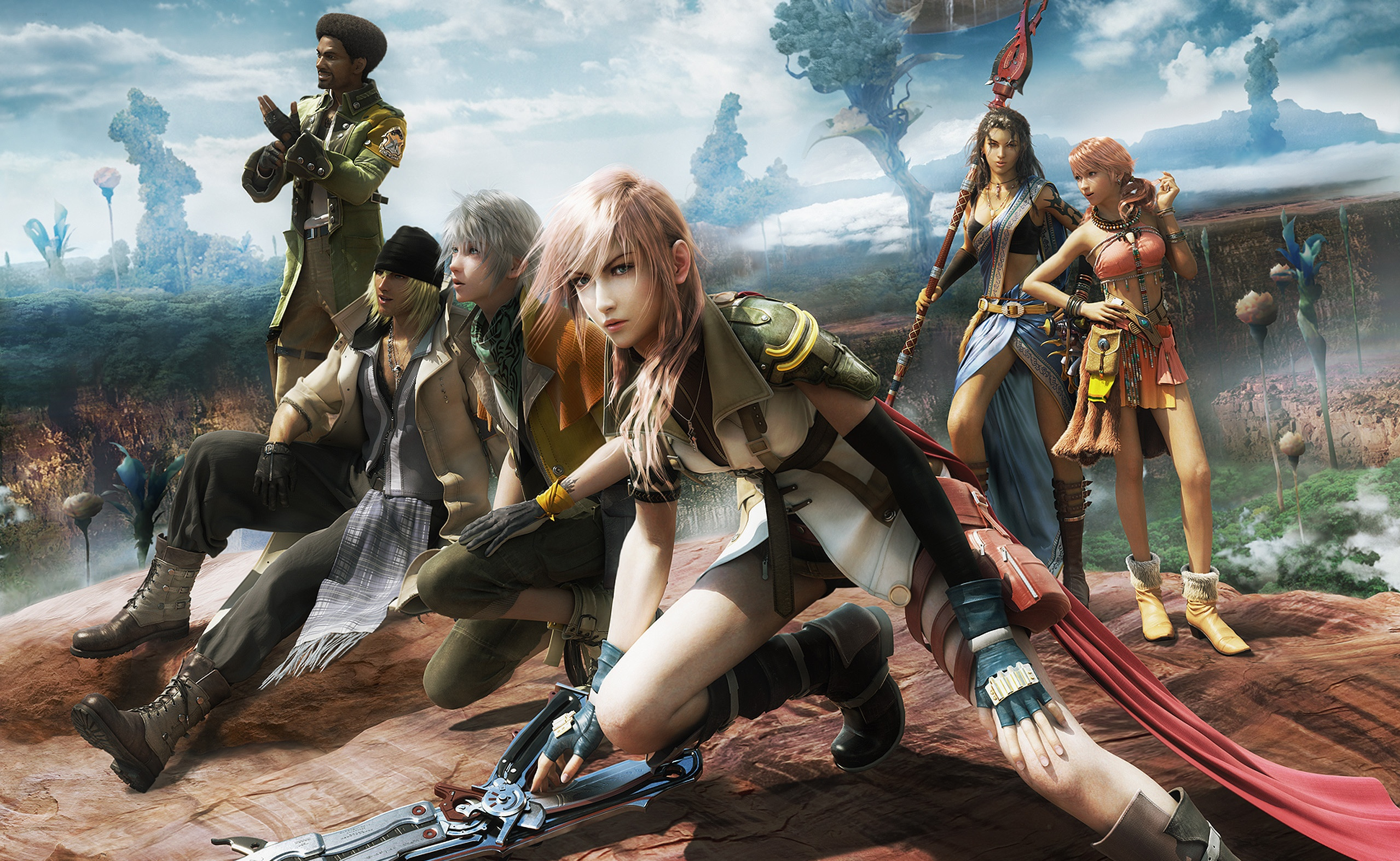 Final Fantasy Wallpapers 87 Background Pictures: 49 Final Fantasy XIII HD Wallpapers