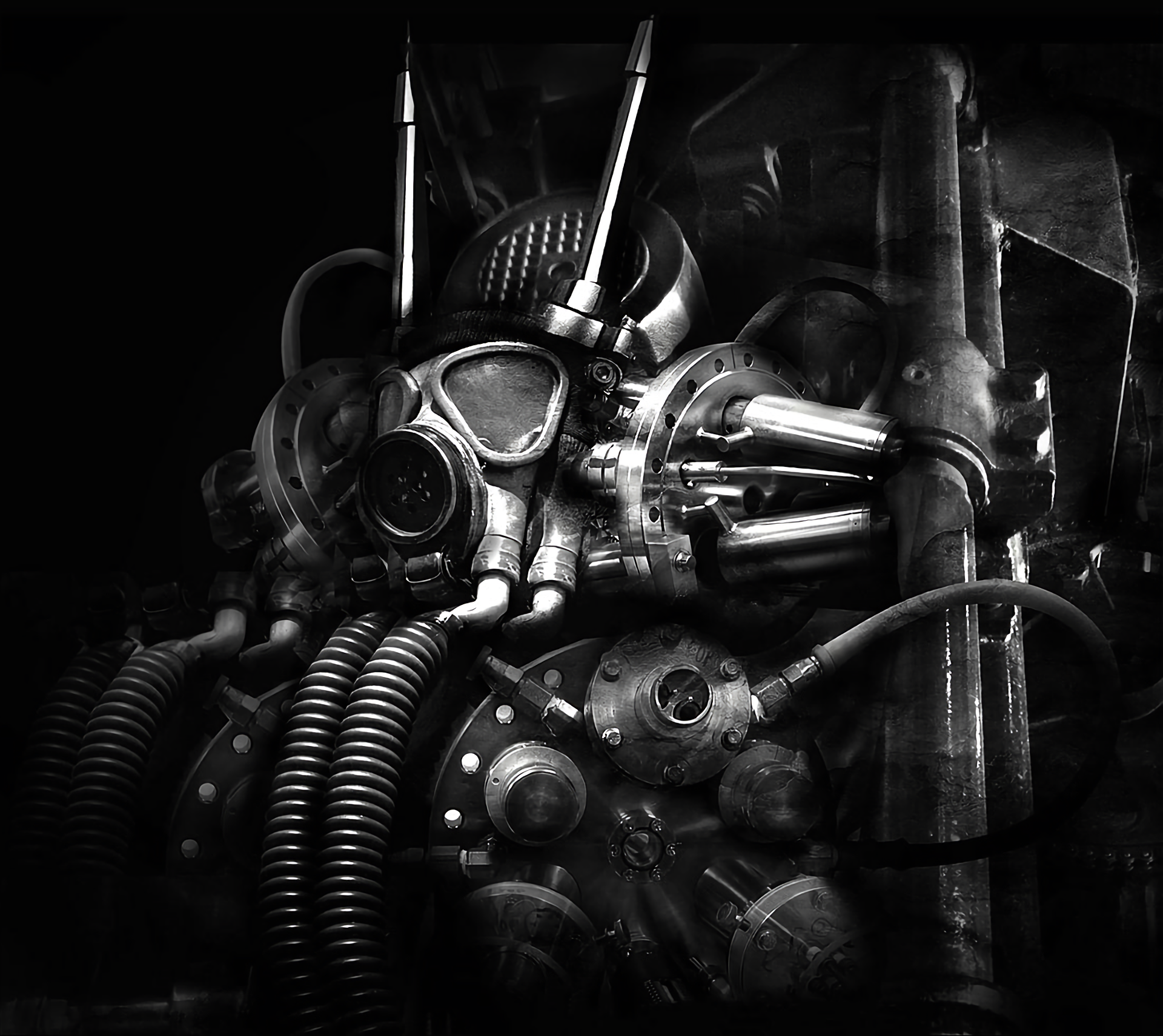 Gas Mask Full Hd Wallpaper And Background Image