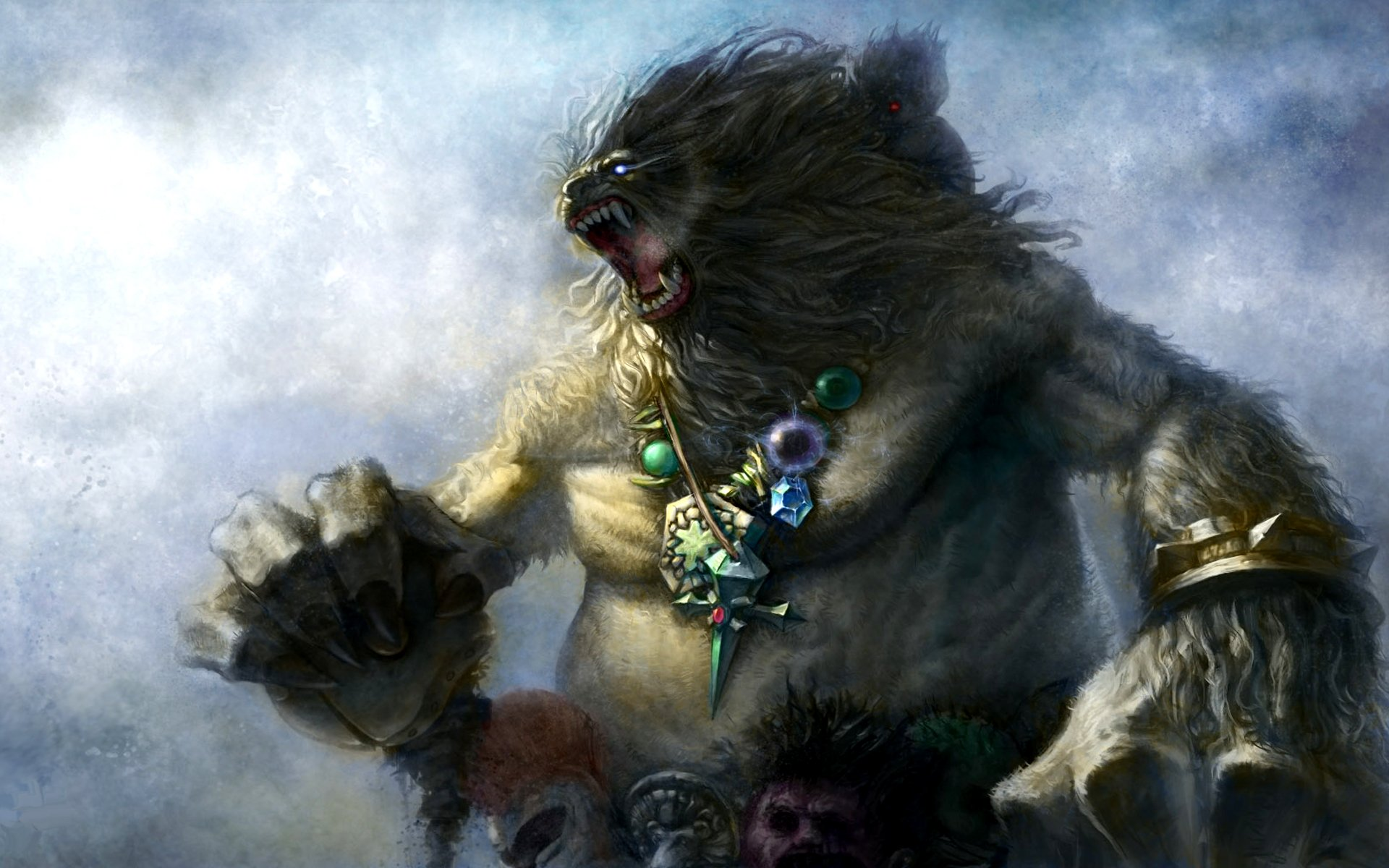 Videojuego - League Of Legends  Beast Nunu (League Of Legends) Fondo de Pantalla