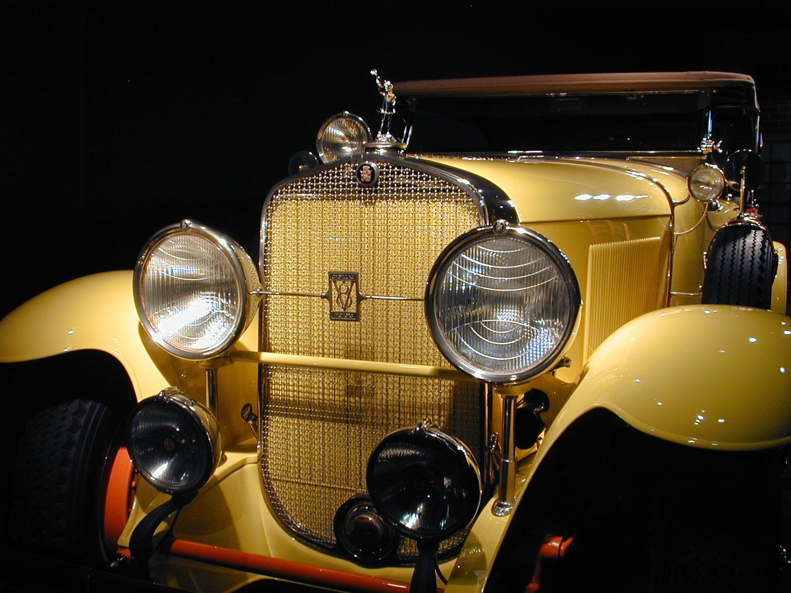 座驾 - 1929 Cadillac V-8 Dual Cowl Phaeton  壁纸