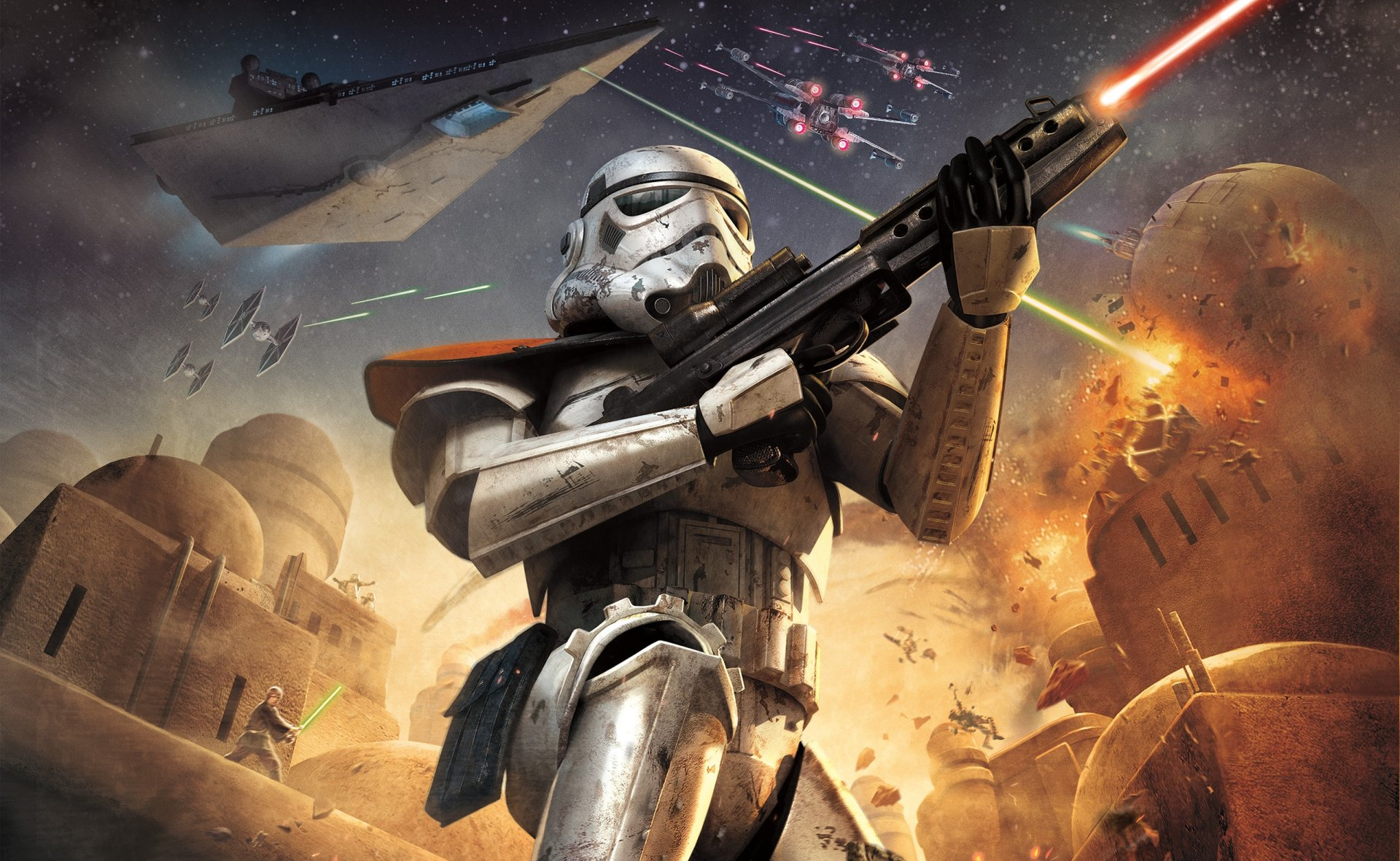 Video Game - Star Wars Battlefront: Elite Squadron  Wallpaper