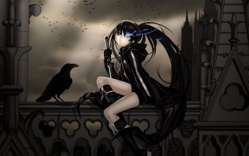 Anime - Black Rock Shooter Wallpapers and Backgrounds ID : 109167