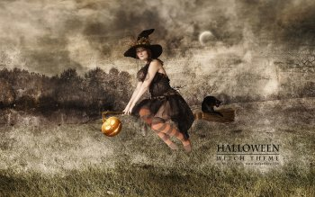 Fantasy - Witch Wallpapers and Backgrounds ID : 109819