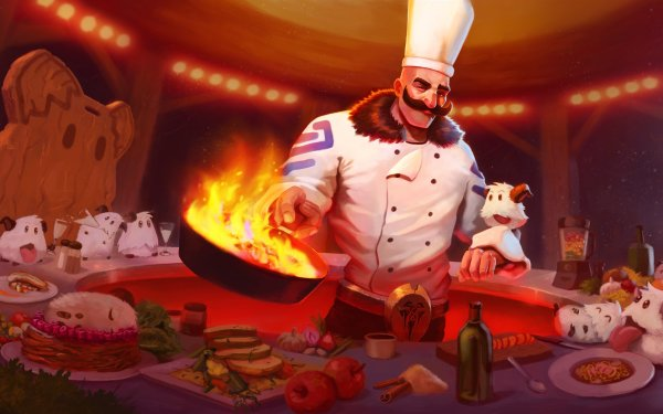 Video Game League Of Legends Braum Poro HD Wallpaper | Background Image