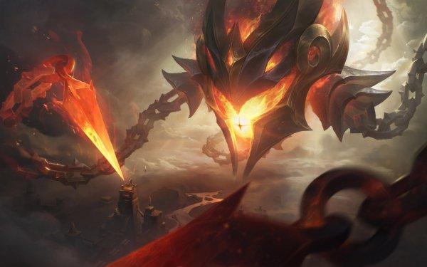 Video Game League Of Legends Vel'koz HD Wallpaper   Background Image