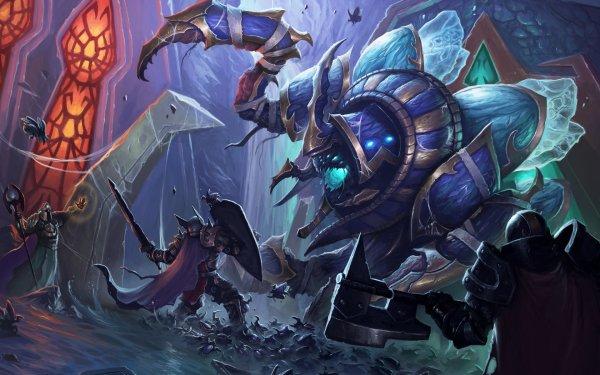 Video Game World Of Warcraft: Wrath Of The Lich King Warcraft Anub'arak Warrior HD Wallpaper | Background Image
