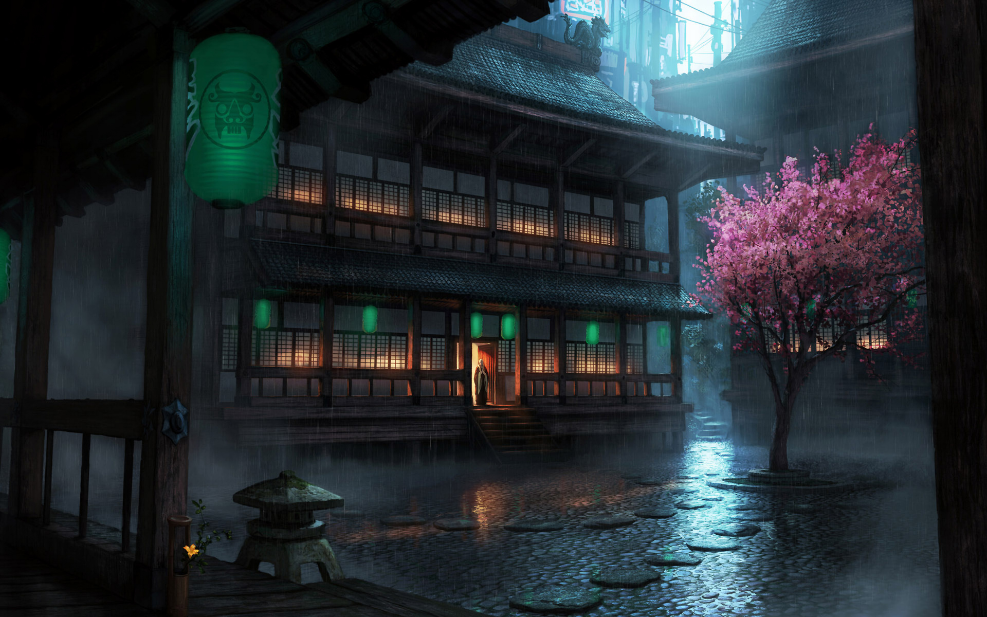 Artistic - Japanese  - The Secret World Wallpaper