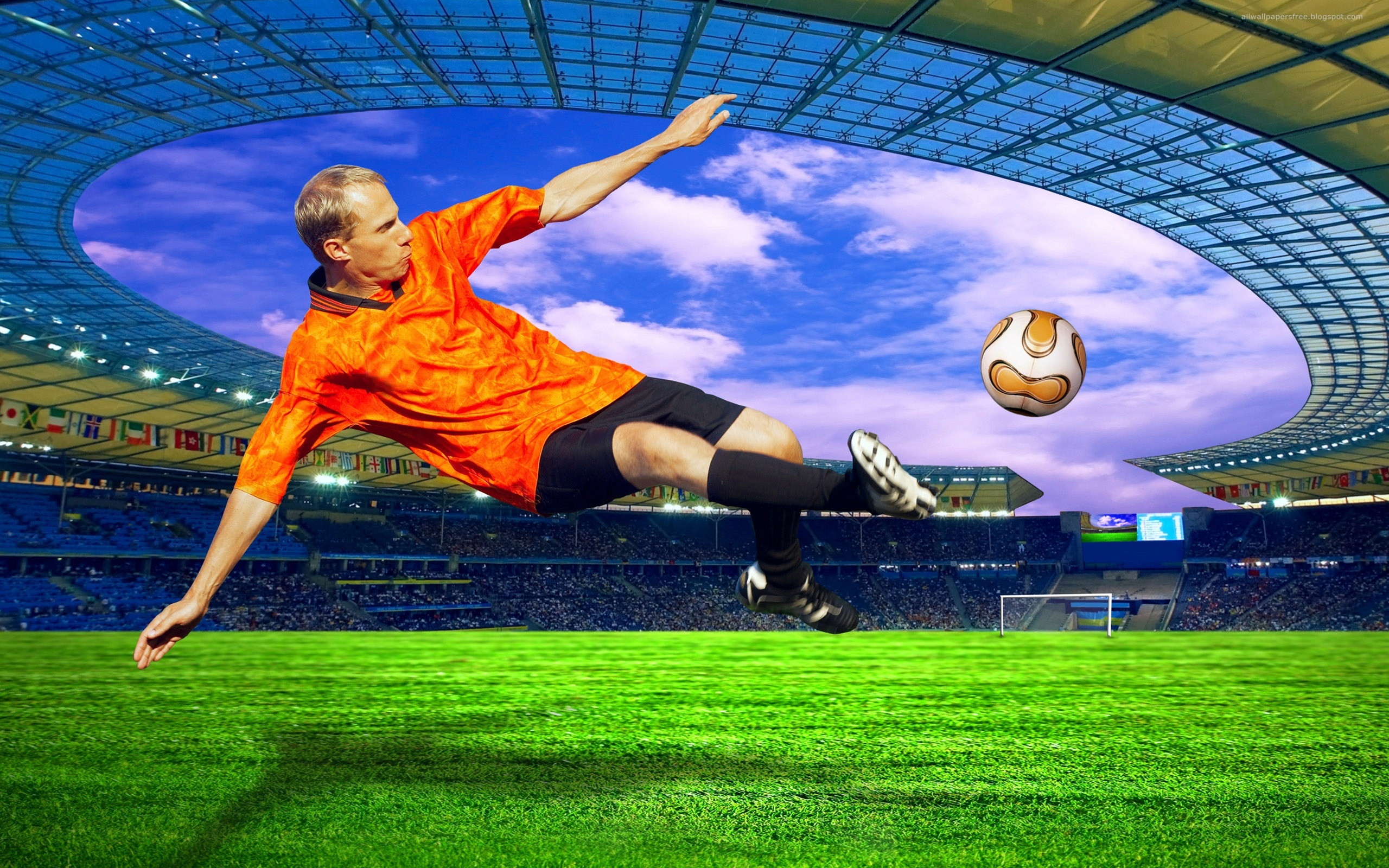 Sports - Soccer  Wallpaper