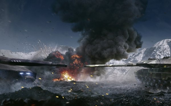 Video Game Armored Warfare Tank Leopard 2 PL-01 HD Wallpaper   Background Image