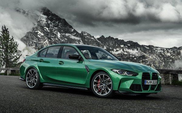 Vehicles BMW M3 Competition BMW BMW M3 Car Green Car Luxury Car HD Wallpaper   Background Image