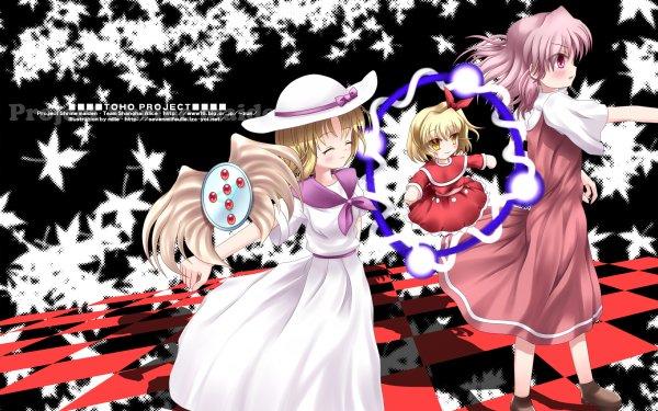 Anime Touhou Louise Sara Wayousei HD Wallpaper | Background Image