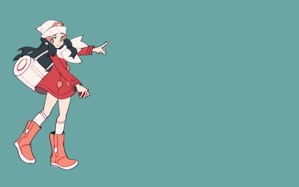 Videojuego Pokémon Diamond Version Dawn Pokémon Trainer Pokémon Pearl Version Pokémon Platinum Version Pokémon Chica Fondo de pantalla HD | Fondo de Escritorio