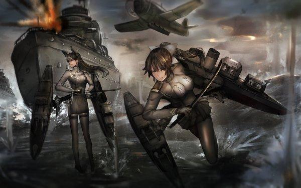 Anime Azur Lane Atago Takao HD Wallpaper | Background Image