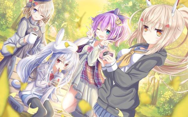 Anime Azur Lane Z23 Laffey Javelin Ayanami HD Wallpaper | Background Image