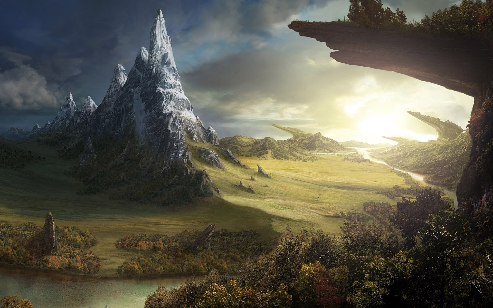 Stunning Hd Fantasy Wallpapers: Hintergründe - Wallpaper