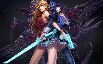 Anime - Panty And Stocking With Garterbelt Wallpapers and Backgrounds ID : 111719