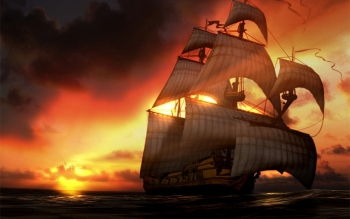 Fantasy - Ship Wallpapers and Backgrounds ID : 111957