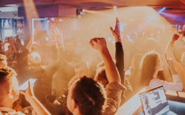 Photography Club Hand Dance Light Nightclub HD Wallpaper | Background Image