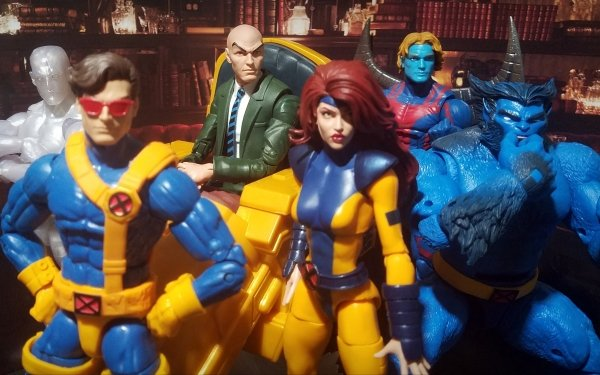 Man Made Toy Jean Grey Charles Xavier Cyclops Iceman Archangel Warren Worthington III X-Men Scott Summers Beast Bobby Drake Professor X Hank McCoy Figurine HD Wallpaper | Background Image