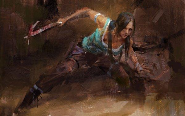 Film Tomb Raider (2018) Artistique Fond d'écran HD   Arrière-Plan