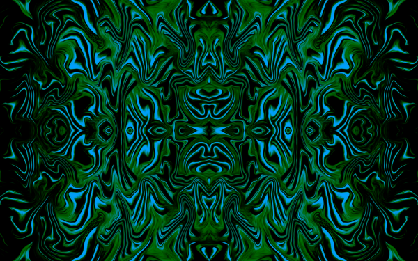 Abstract Artistic Blue Green HD Wallpaper | Background Image