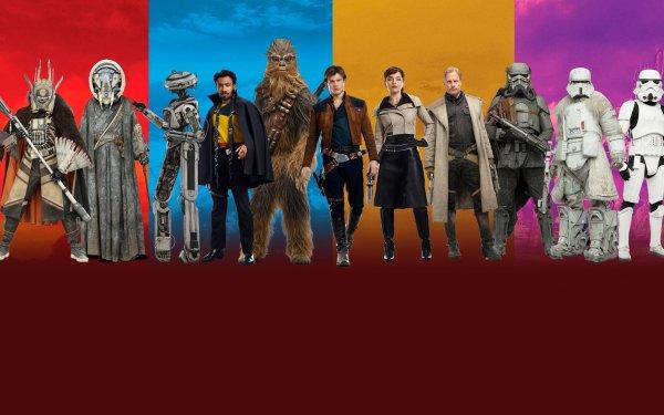 Movie Solo: A Star Wars Story Star Wars Han Solo Chewbacca Qi'ra Lando Calrissian HD Wallpaper | Background Image