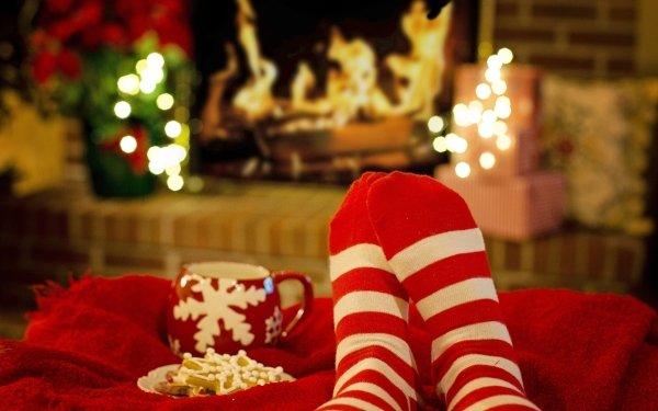 Photography People Legs Cookie Christmas Mug Socks HD Wallpaper | Background Image