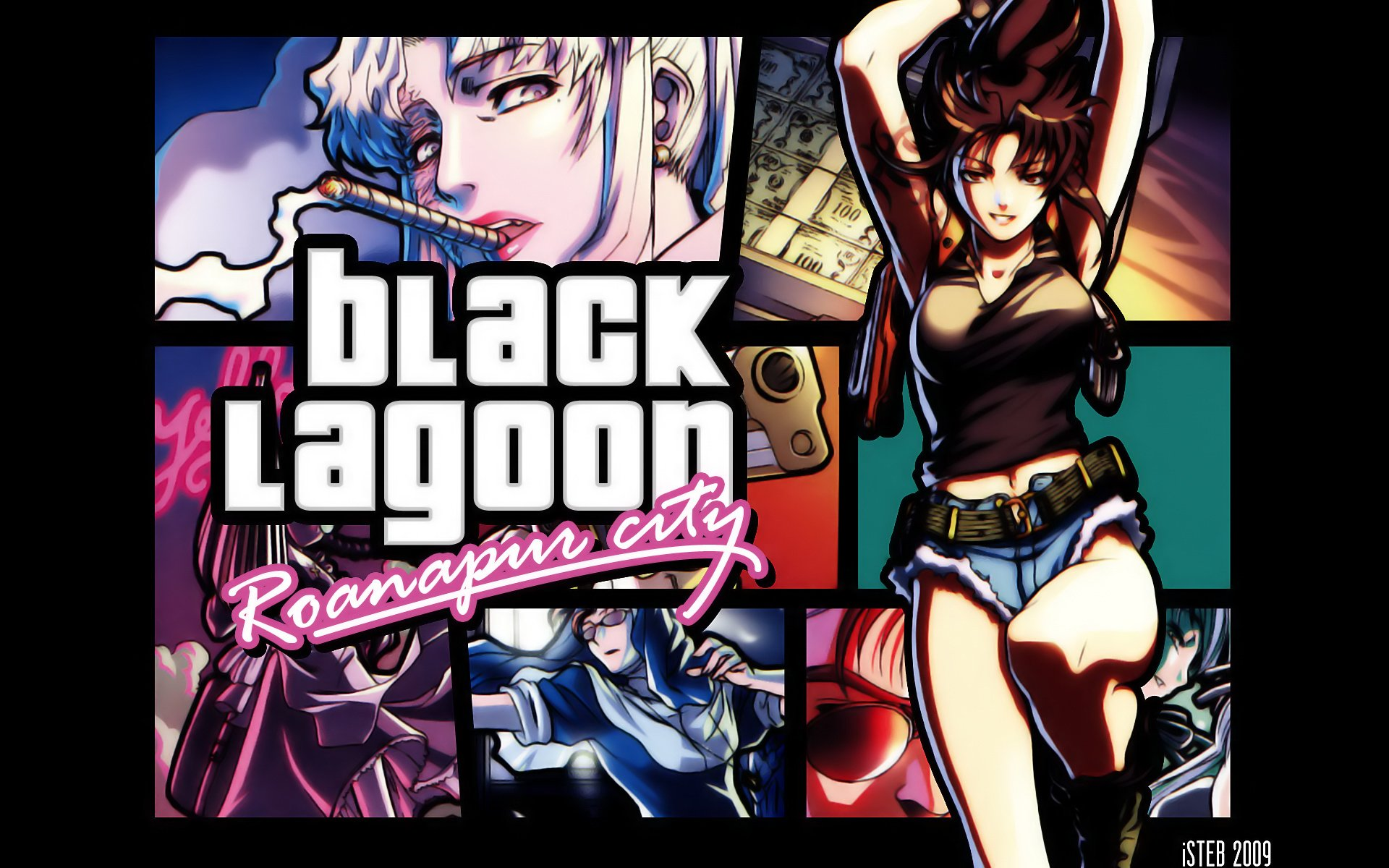 hd wallpaper background id112199 1920x1200 anime black lagoon 7 like favorite