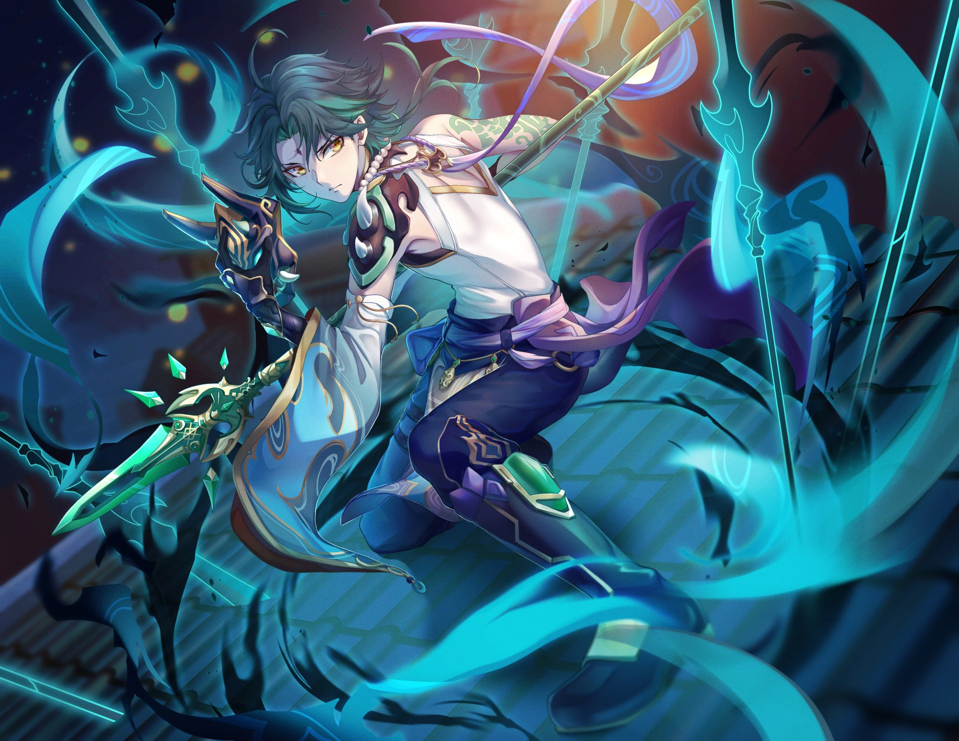 Xiao Genshin Impact Wallpaper HD