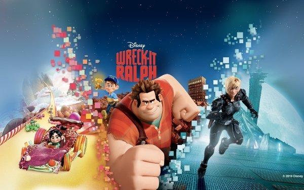 Movie Wreck-It Ralph Ralph Vanellope von Schweetz Fix-It Felix Sergeant Calhoun HD Wallpaper   Background Image