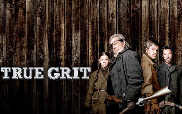 Movie True Grit (2010) Hailee Steinfeld Jeff Bridges Josh Brolin Matt Damon HD Wallpaper | Background Image