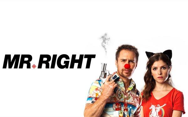 Movie Mr. Right Anna Kendrick Sam Rockwell HD Wallpaper   Background Image