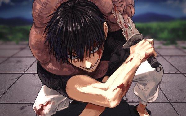 Anime Jujutsu Kaisen Toji Fushiguro HD Wallpaper | Background Image