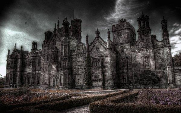 Oscuro Castle Castillos HDR Fondo de pantalla HD | Fondo de Escritorio