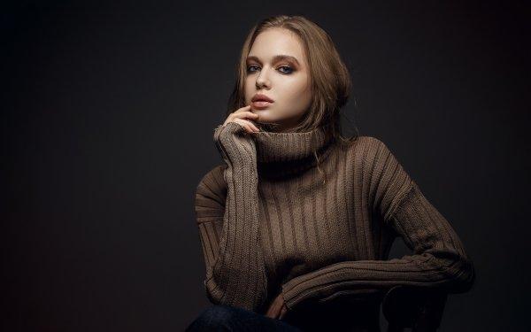 Women Model Models Brunette HD Wallpaper | Background Image