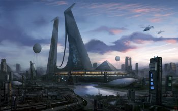 Sci Fi - City Wallpapers and Backgrounds ID : 113247
