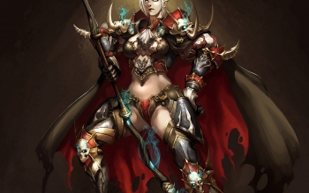 Fantasy - Women Warrior Wallpapers and Backgrounds ID : 113945